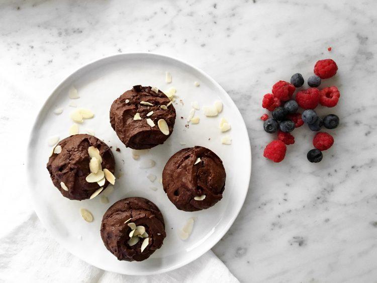 Moelleux chocolat amandes –  Vegan