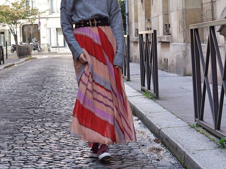 #HowToWear La jupe longue en hiver