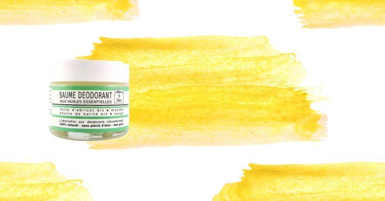 Le Baume Déodorant aux huiles essentielles de chez Clémence et Vivien