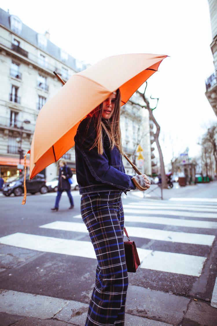 Le parapluie comme accessoire de mode avec Maison Piganiol