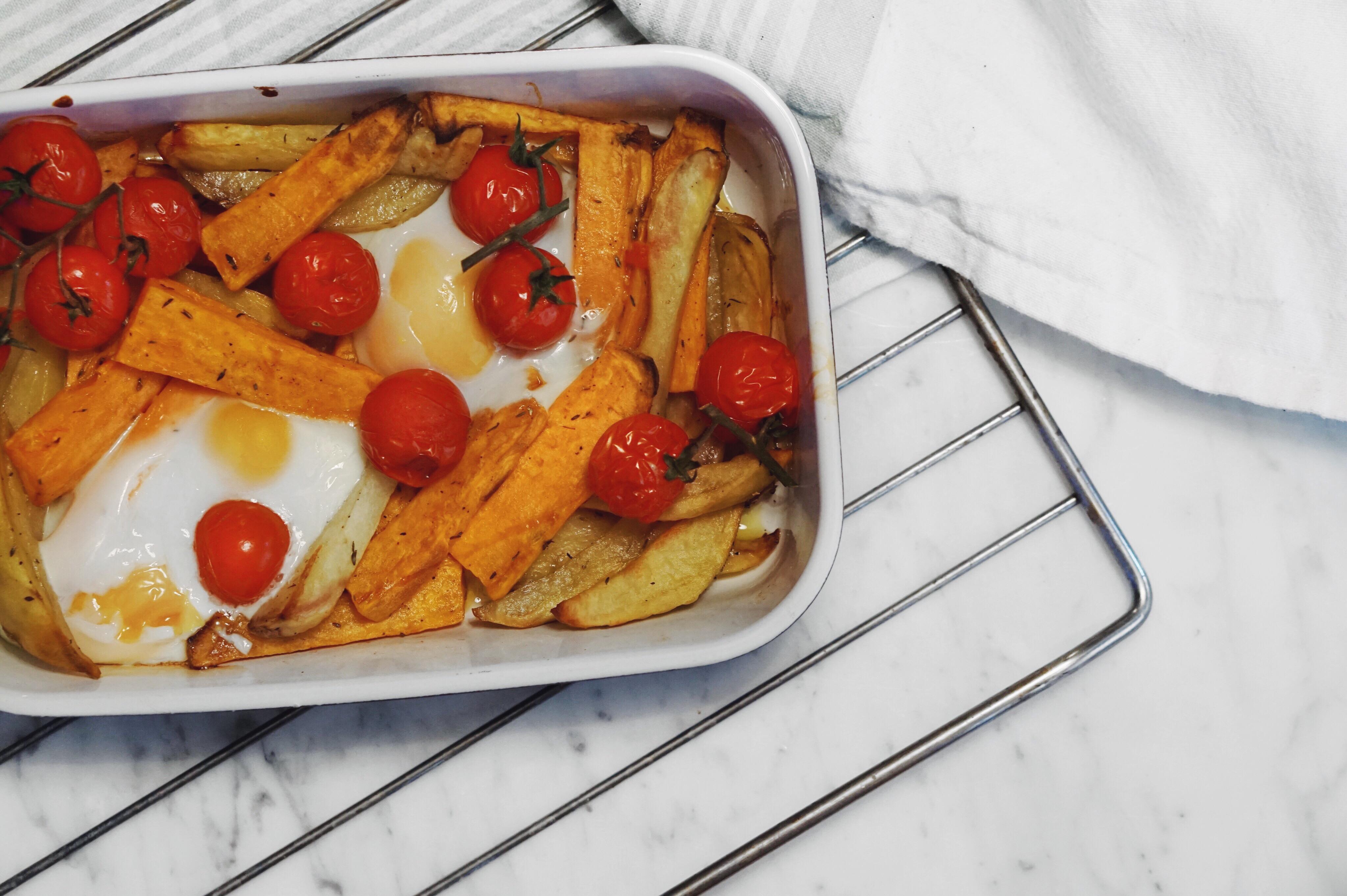 plat d 39 hiver patate douce pommes de terre oeufs et. Black Bedroom Furniture Sets. Home Design Ideas