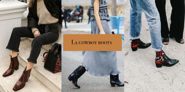 La cowboy boots, l'indispensable de l'automne